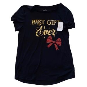 """Maternity Christmas NWT """"Best Gift"""" Tee"""